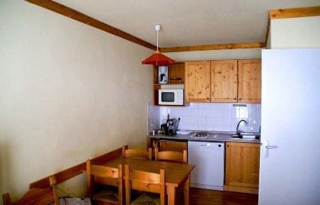 Location au ski Appartement 2 pièces 4 personnes (116) - Chalets Du Thabor - Valfréjus - Kitchenette