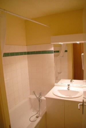 Location au ski Appartement 2 pièces 4 personnes (116) - Chalets Du Thabor - Valfréjus - Salle de bains