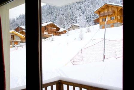 Location au ski Appartement 2 pièces 4 personnes (116) - Chalets Du Thabor - Valfréjus - Extérieur hiver