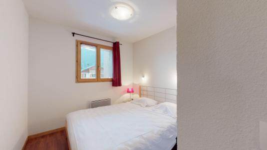 Rent in ski resort 2 room apartment cabin 6 people - Les Chalets de Florence - Valfréjus - Double bed