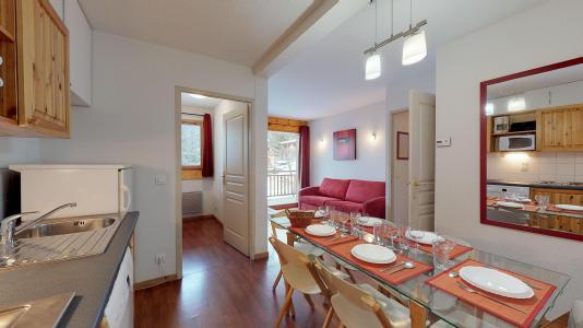 Rent in ski resort 2 room apartment cabin 6 people - Les Chalets de Florence - Valfréjus - Kitchen