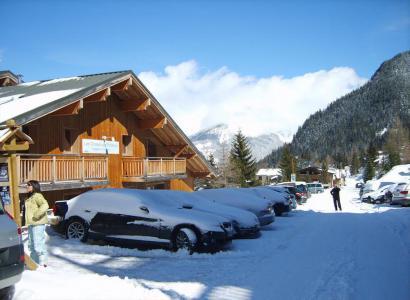 Rent in ski resort Les Chalets de Florence - Valfréjus - Winter outside