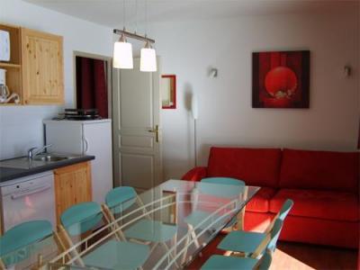 Location au ski Appartement 2 pièces coin montagne 8 personnes - Les Chalets De Florence - Valfréjus - Séjour