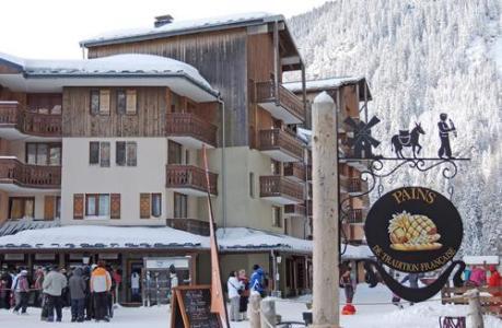 Location au ski Les Residences - Valfréjus - Extérieur hiver