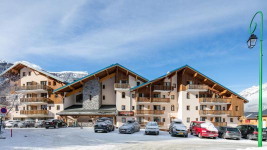 Rent in ski resort Résidence la Turra - Valfréjus - Winter outside