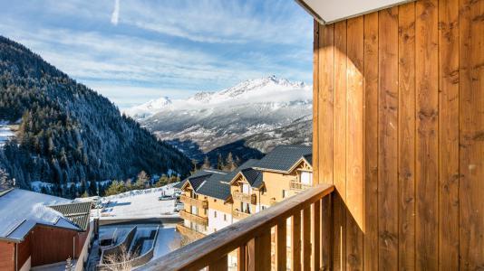 Soggiorno sugli sci Résidence la Turra - Valfréjus - Balcone
