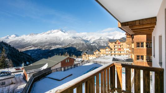 Rent in ski resort Résidence la Turra - Valfréjus - Balcony