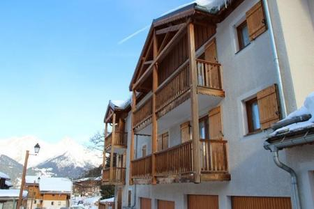 Location au ski Residence Le Belvedere Asphodele - Valfréjus - Extérieur hiver