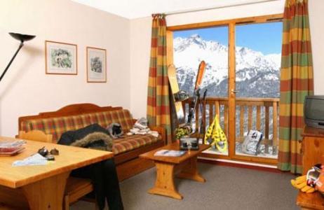 Location au ski Residence Le Cheval Blanc - Valfréjus - Canapé-lit