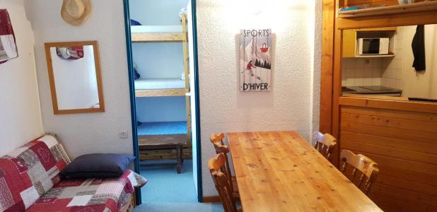 Аренда на лыжном курорте Квартира студия кабина для 6 чел. (130) - Résidence le Thabor D - Valfréjus