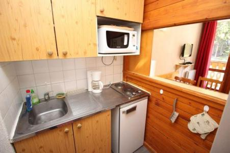 Location au ski Studio 4 personnes (138) - Residence Le Thabor D - Valfréjus - Cuisine