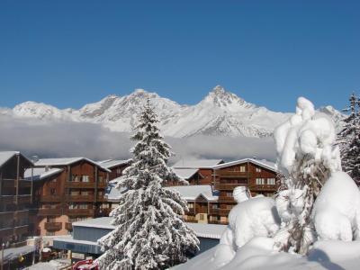 Location au ski Studio coin montagne 4 personnes (187) - Residence Le Thabor E - Valfréjus - Extérieur hiver
