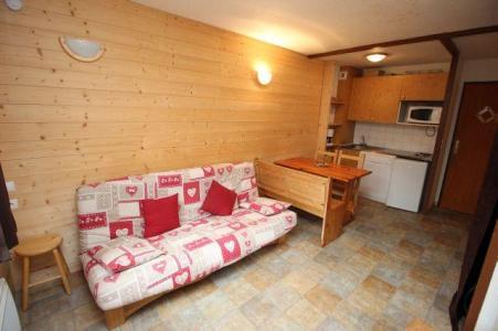 Location au ski Studio cabine 4 personnes (217) - Residence Le Thabor E - Valfréjus - Canapé-lit