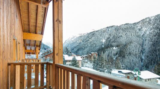 Аренда на лыжном курорте Résidence les Chalets de la Ramoure - Valfréjus - Балкон