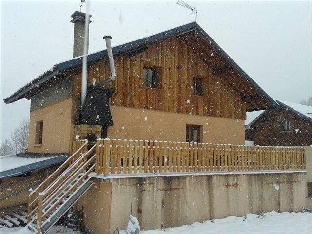 Location au ski Chalet Chez Besson - Valloire - Extérieur hiver