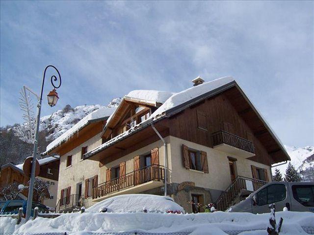 Location au ski Chalet La Vitesse - Valloire - Extérieur hiver