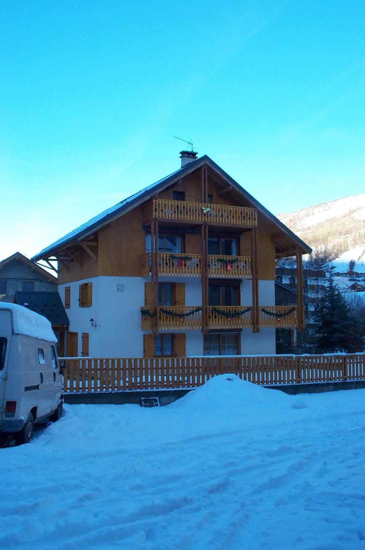 Location au ski Chalet Le Gentiana - Valloire