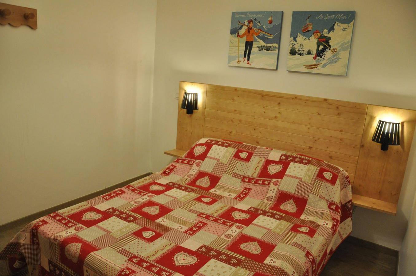 Location au ski Appartement 3 pièces 6 personnes (211) - Les Fermes De L'archaz - Valloire - Chambre