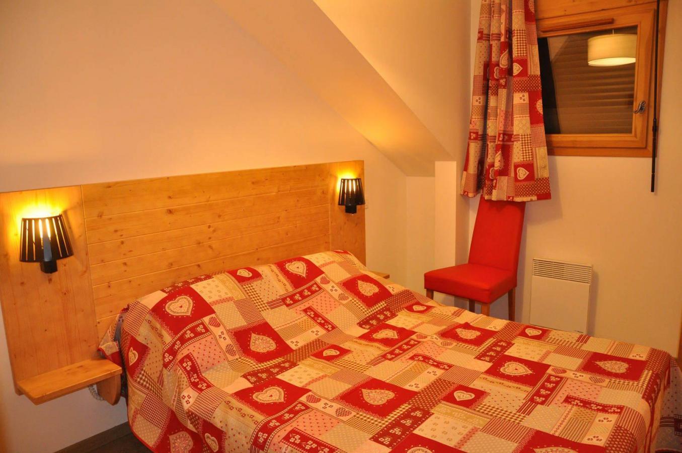 Location au ski Appartement 3 pièces 6 personnes (211) - Les Fermes De L'archaz - Valloire - Lit double