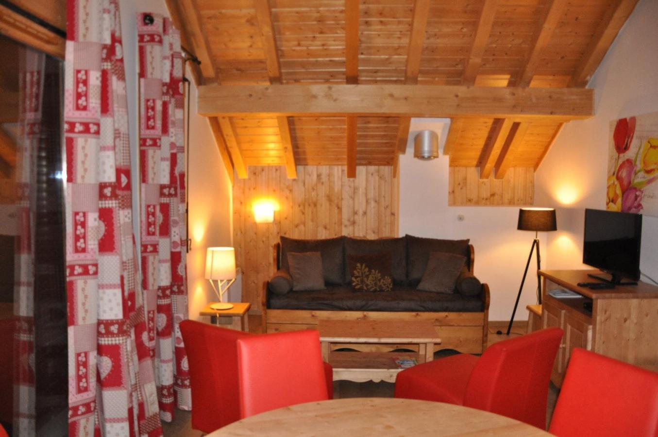 Location au ski Appartement 3 pièces 6 personnes (211) - Les Fermes De L'archaz - Valloire - Séjour