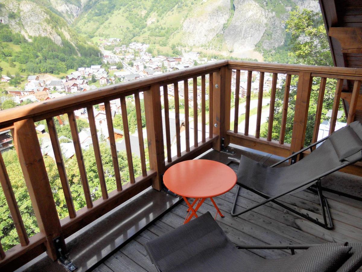 Location au ski Appartement duplex 4 pièces cabine 8 personnes (B201) - Les Fermes De L'archaz - Valloire - Balcon
