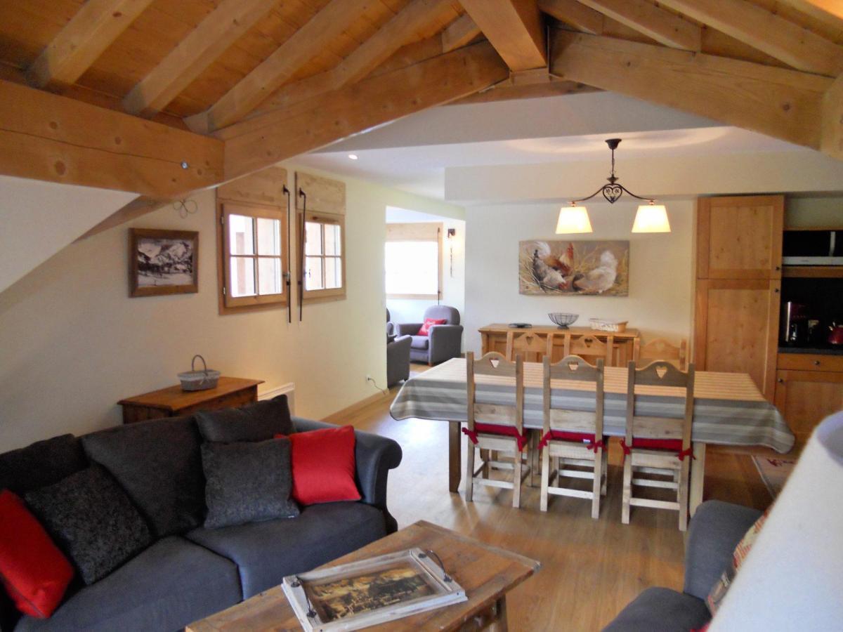 Location au ski Appartement duplex 4 pièces cabine 8 personnes (B201) - Les Fermes De L'archaz - Valloire - Canapé