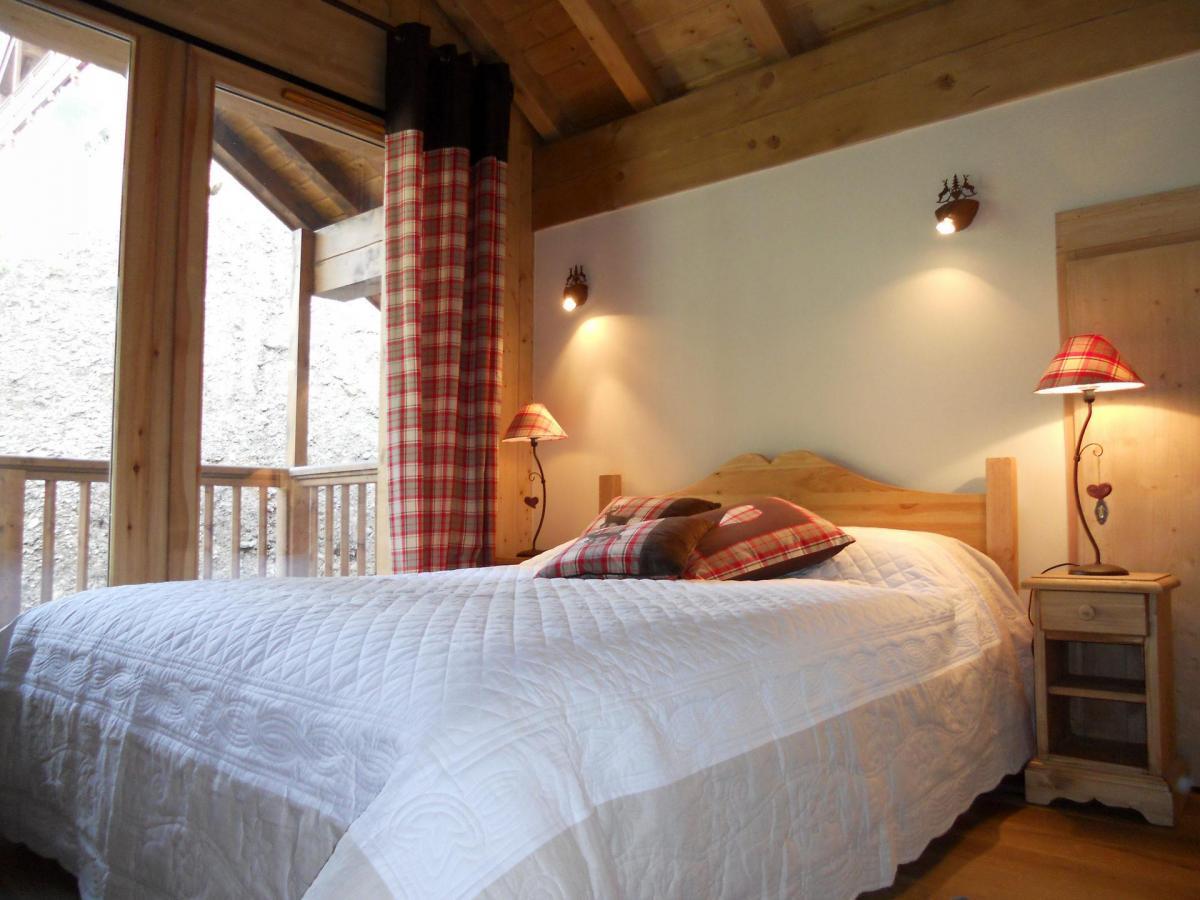 Location au ski Appartement duplex 4 pièces cabine 8 personnes (B201) - Les Fermes De L'archaz - Valloire - Chambre