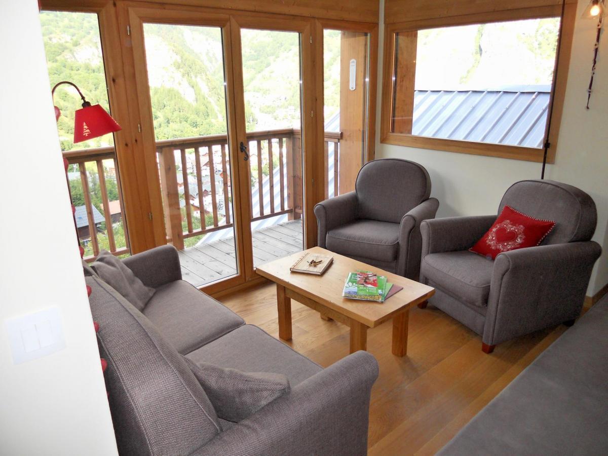 Location au ski Appartement duplex 4 pièces cabine 8 personnes (B201) - Les Fermes De L'archaz - Valloire - Fauteuil