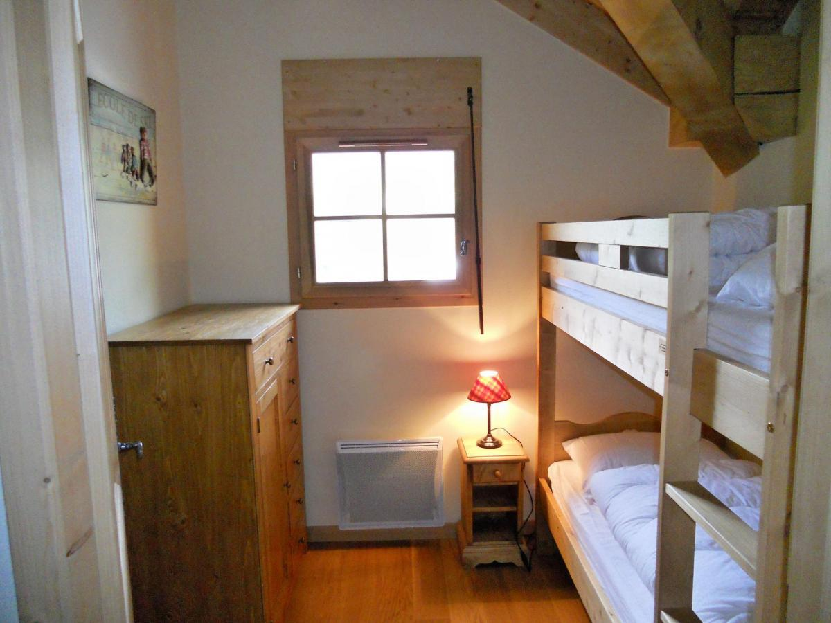 Location au ski Appartement duplex 4 pièces cabine 8 personnes (B201) - Les Fermes De L'archaz - Valloire - Lits superposés