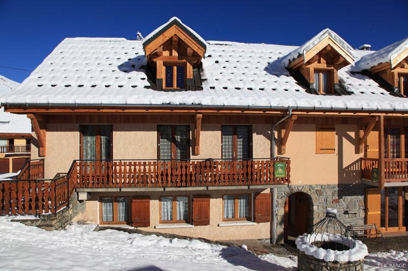 Location au ski Maison Feutrier - Valloire - Extérieur hiver