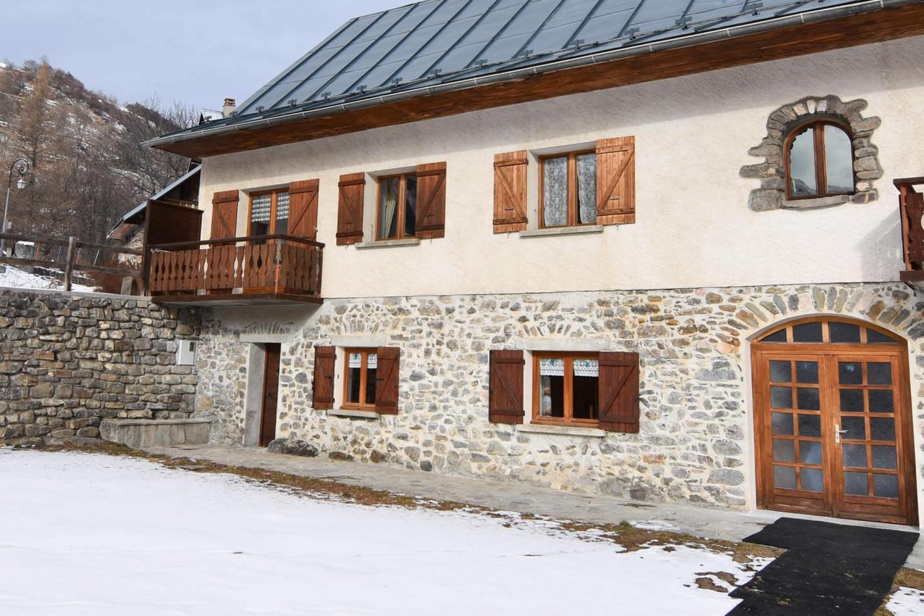 Ski en décembre Maison Grand Galibier