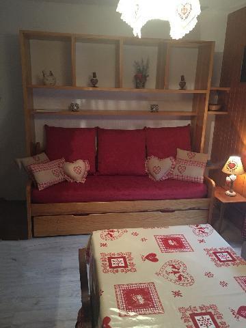 Location au ski Studio coin montagne 3 personnes (62) - Residence Betelgeuse - Valloire