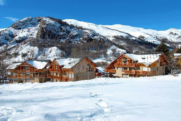 Location au ski Residence De La Claree - Valloire - Extérieur hiver