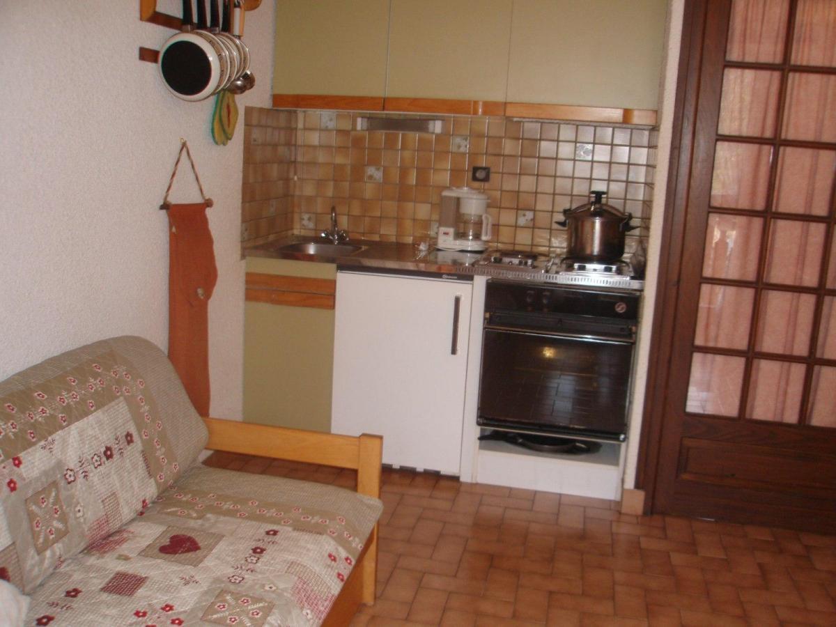 Location au ski Studio coin montagne 4 personnes (113) - Residence Les Cretes - Valloire - Four
