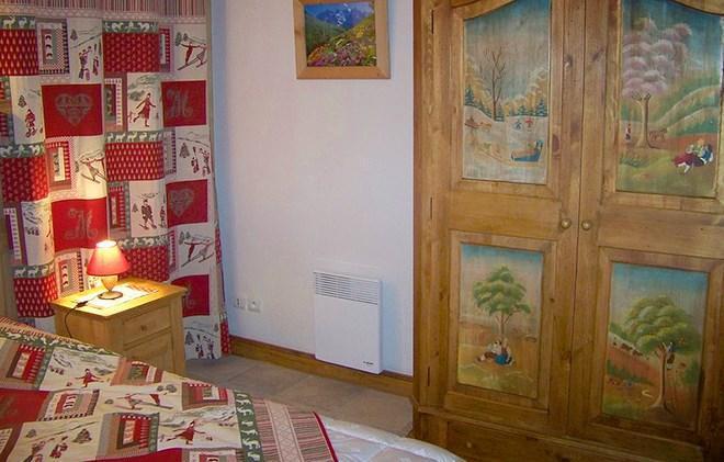 Location au ski Chalet Alpen Roc - Valloire - Chambre