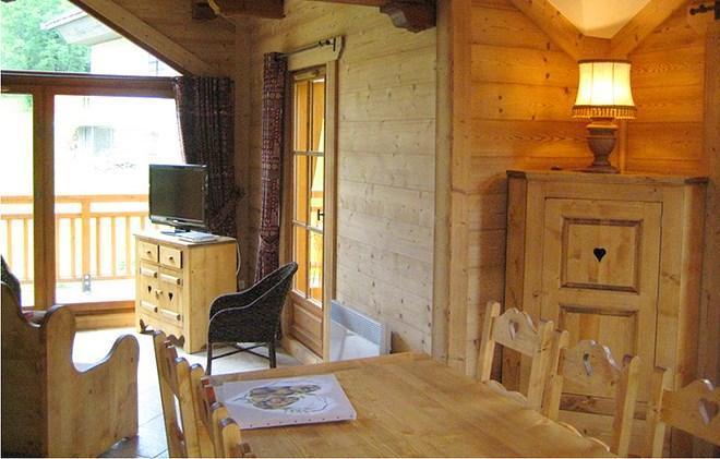 Location au ski Chalet Alpen Roc - Valloire - Salle à manger