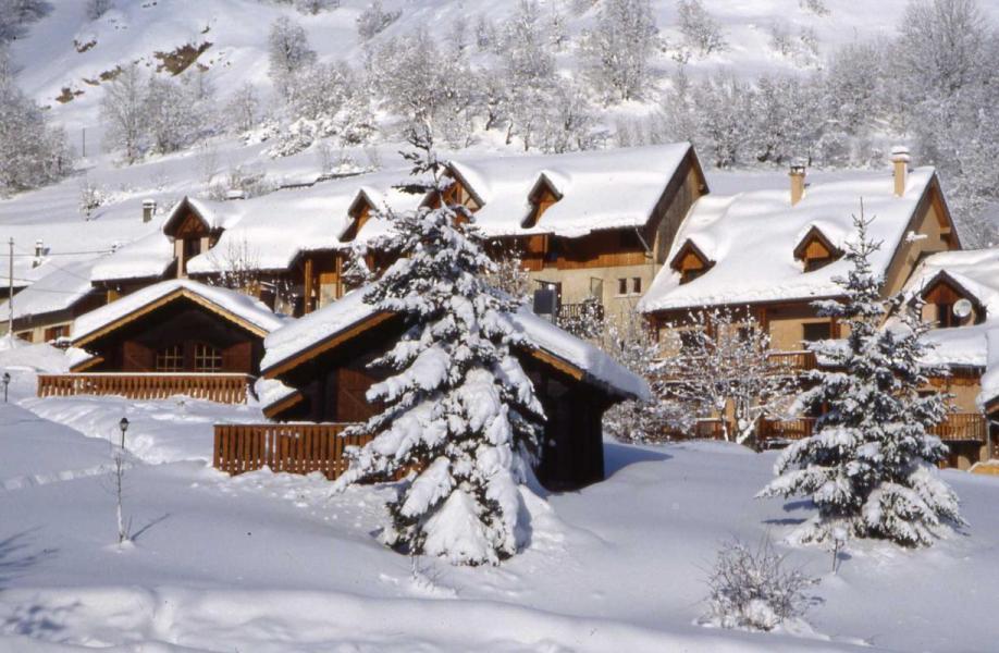 Аренда на лыжном курорте Chalet Bonne Eau - Valloire - зимой под открытым небом