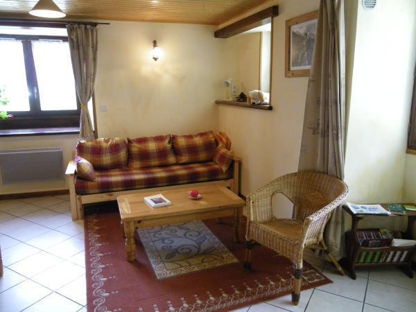 Аренда на лыжном курорте Апартаменты 3 комнат 4 чел. - Chalet Falcoz - Valloire - Салон