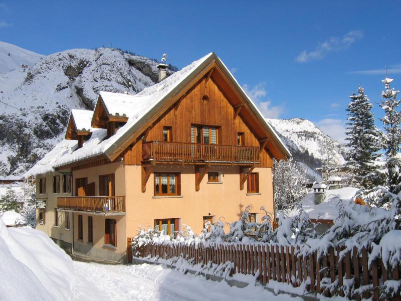 Аренда на лыжном курорте Chalet Gilbert Collet - Valloire - зимой под открытым небом