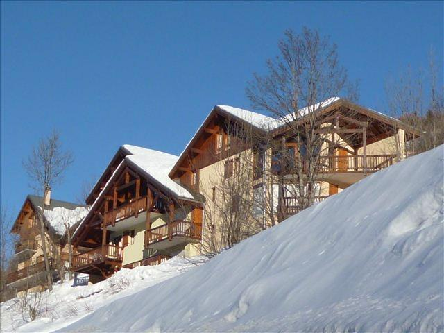 Holiday in mountain resort Chalet l'Alp du Pontet - Valloire - Winter outside