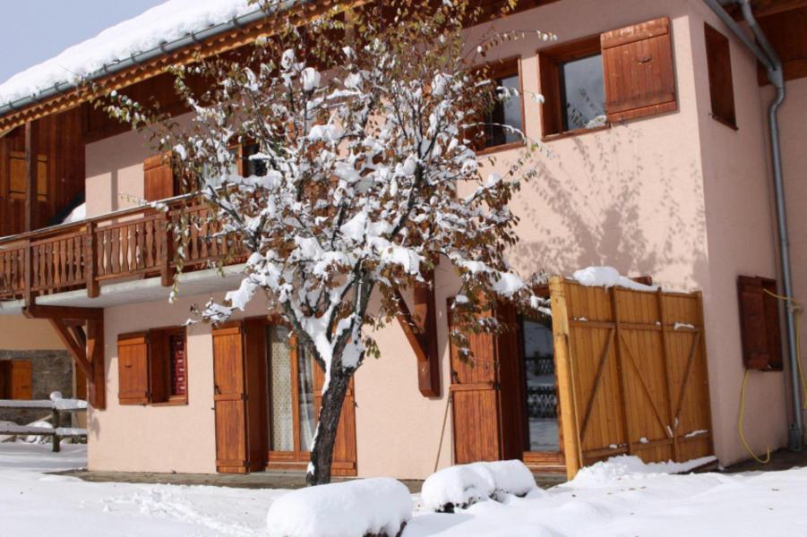 Urlaub in den Bergen Chalet l'Ancolie - Valloire - Draußen im Winter