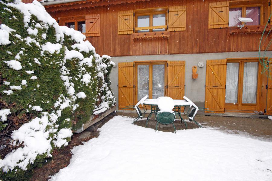 Wynajem na narty Chalet l'Antarès - Valloire - Zima na zewnątrz