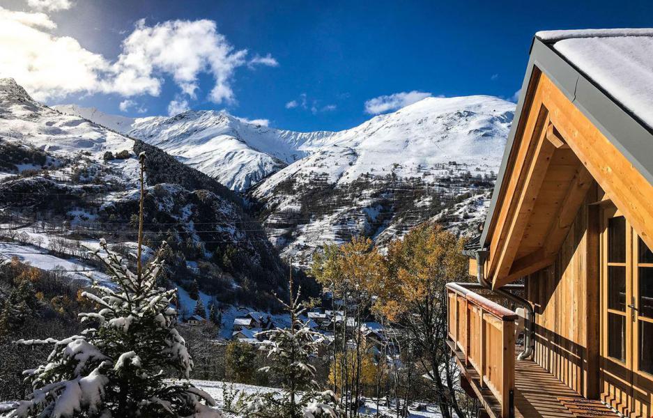 Skiverleih Chalet Le Chabichaz - Valloire - Draußen im Winter