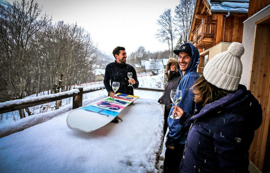 Location au ski Chalet le Mas des Neiges - Valloire - Extérieur hiver