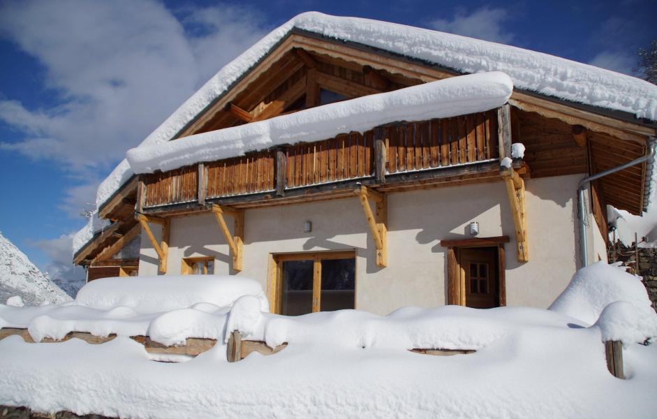 Vacaciones en montaña Chalet le Peak - Valloire - Invierno