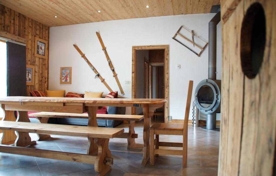 Location au ski Chalet le Peak - Valloire - Salle à manger