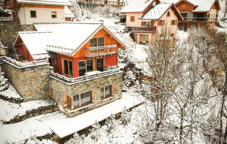 Wakacje w górach Chalet le Pure Altitude - Valloire - Zima na zewnątrz