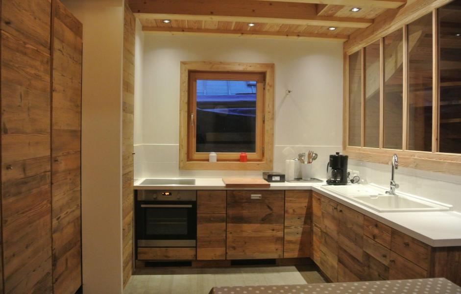 Аренда на лыжном курорте Chalet le Pure Altitude - Valloire - Кухня