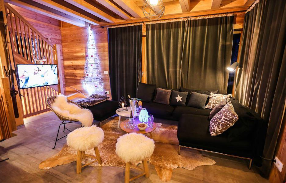 Аренда на лыжном курорте Chalet le Pure Altitude - Valloire - Салон