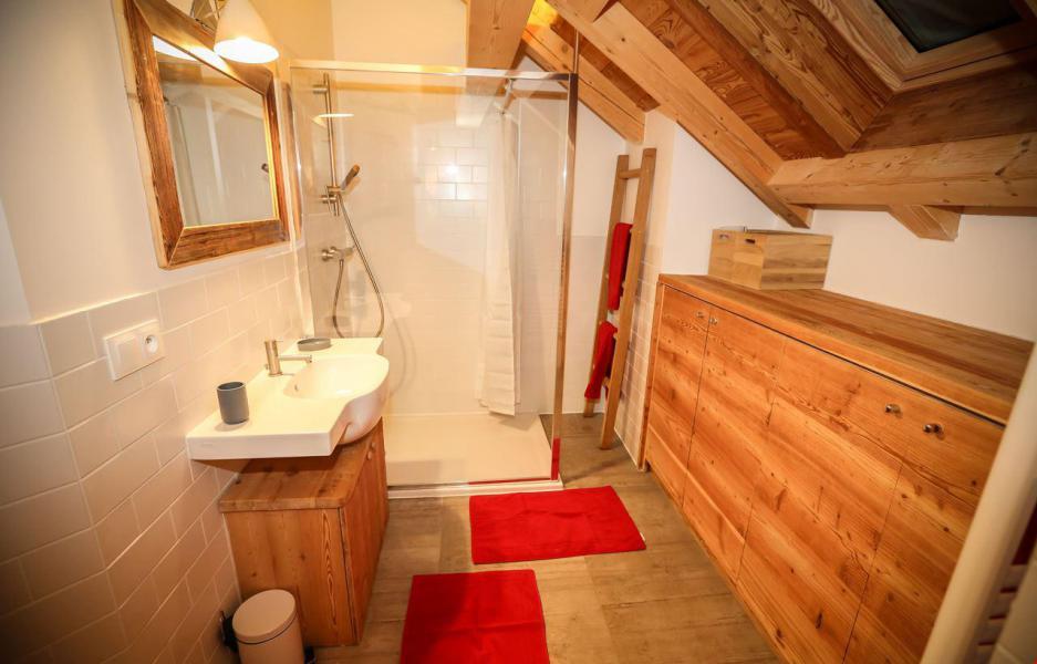 Location au ski Chalet le Pure Altitude - Valloire - Salle d'eau